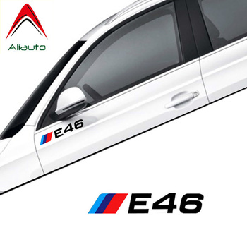 Aliauto 2 X Car Sticker Decal Accessories for BMW E30 E34 E36 E39 E46 E60 E53 E90 F10 F20 F01 F02 F30 F31 F34 F48 F87,15cm image