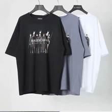 2020プリマベーラverão femininoカルタbordado algodãoプレトマンガcurta masculino camiseta