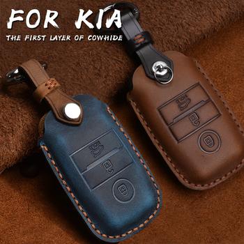 Чехол для смарт-ключей из натуральной кожи, чехол для Kia KX3/KX5/K3S/RIO/Ceed/Cerato/Optima/K5/Sportage/Sorento, брелок для стайлинга автомобиля, L72
