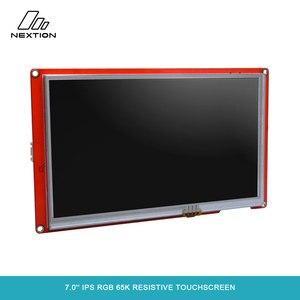 Image 4 - Nextion 7.0 nextion インテリジェントシリーズ NX8048P070 011R hmi ips rgb 65 18k 抵抗タッチスクリーンディスプレイモジュールエンクロージャなし