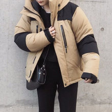 Cotton Padded Jacket Women Fall and Winter Thick Warm Oversized Parkas Causal Harajuku Outwear Korean Fashion Outer Coats Khaki(China)