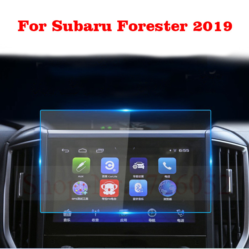 Dashboard Display Protective Film For Subaru Forester SK 2019 Car Styling GPS Navigation Screen Glass Protective Film