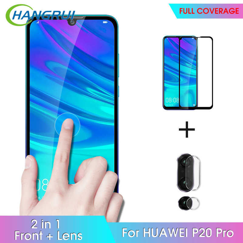 Hangrui Tempered Glass & Lensa Film untuk Huawei P30 Lite P20 P Smart Plus 2019 Mate 20 20X PRO Lite mate RS Pelindung Lensa Kamera