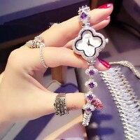 hot cake madam classical fashion diamond Bracelet table waterproof quartz watches wholesale agency