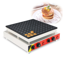SUCREXU Commercial 100pcs 4.5cm Poffertjes Mini Dutch Pancake Machine Waffle Baker Maker 110V220V CE недорого