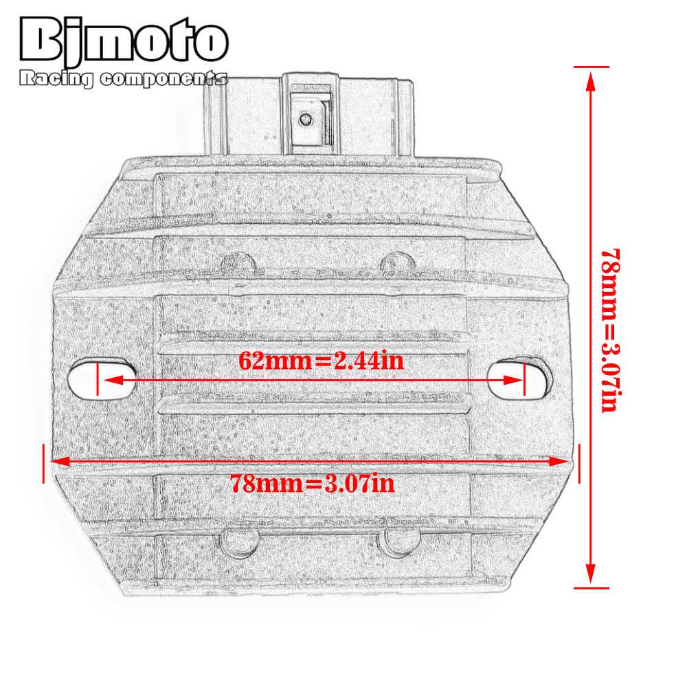 QIUXIANG SH640E-11 de la Motocicleta Regulador de Voltaje rectificador Fit for Yamaha YFM 450 350 250 660 125 400 600 YFM Fit for Honda TRX250 TRX400