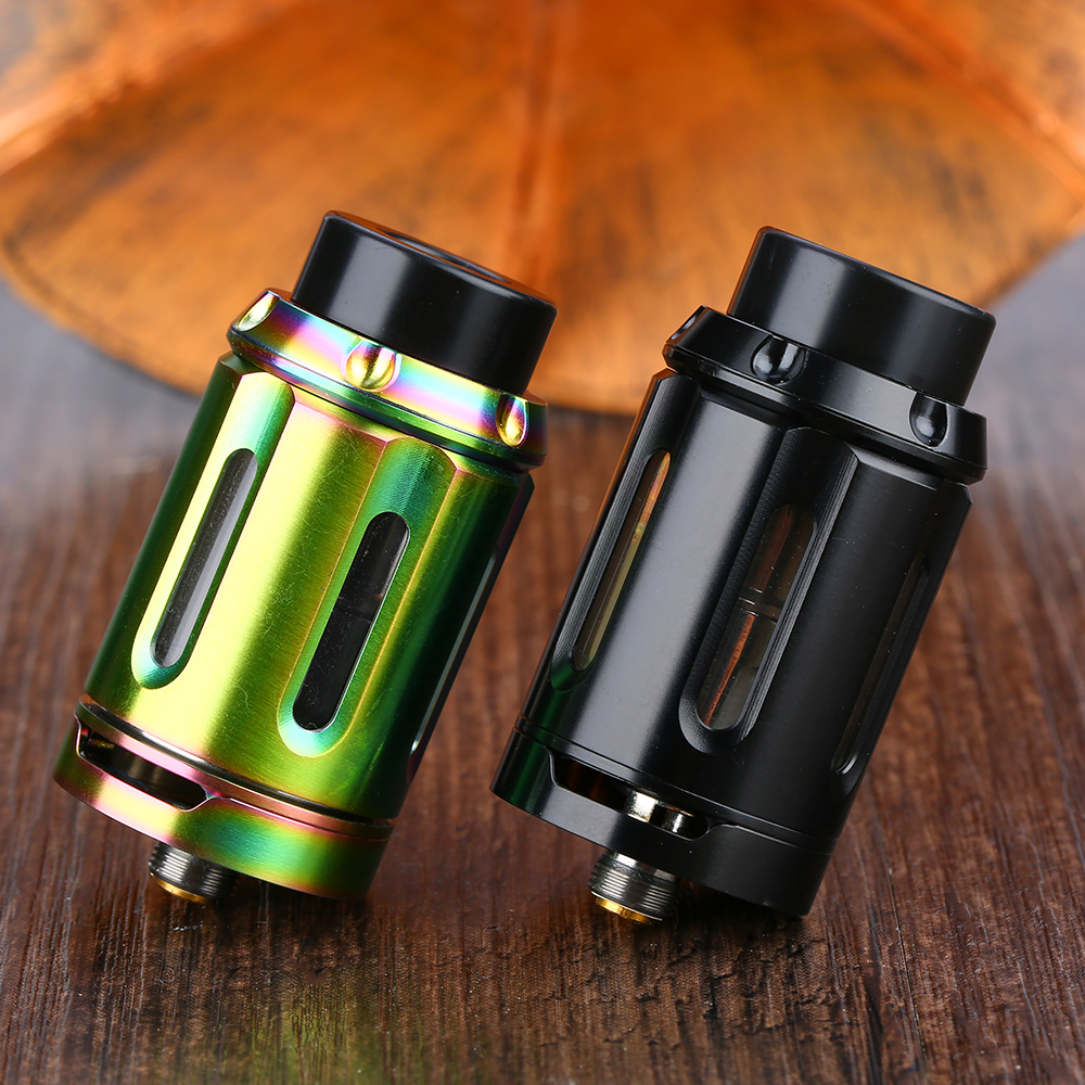 Original Squid Industries Peacemaker Version 2 Subohm Tank 8.5ml/5.5ml Atomizer & 0.2ohm/ 0.8ohm Coil Vape Tank VS Zeus X RTA