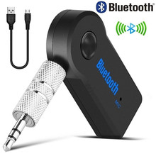 Bluetooth AUX Mini Audio Receiver Car Transmitter 3.5mm Jack Handsfree Kit Music Aux Adapter