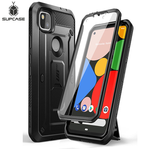 SUPCASE For Google Pixel 4A Case (2020) UB Pro Full-Body Rugged Holster Case Protective Cover WITH Built-in Screen Protector