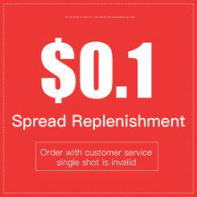 Spread replenishment / Order with customer service, single shot is invalid
