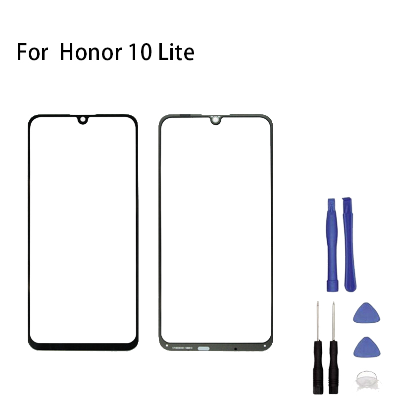 For Huawei Honor 10 Lite HRY-LX1 HRY-LX2 Touch Screen Glass Sensor Panel Front Glass Panel Digitizer Touchpad Repair Spare Parts