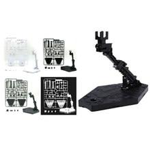 5 cores 1 pçs figura de ação acessórios ajustar para gundam modelo suporte suporte base robô figura exibição base para boneca
