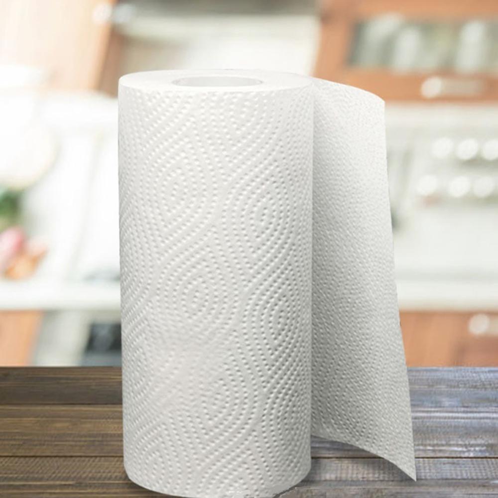 1Roll Toilet Paper Holder Bathroom Suction Hanger Tissue Rack Kitchen Towel Hook Silver Glossy