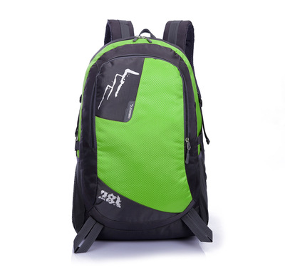 Large Capacity Outdoor Mountaineering Bag Travel Bag Backpack Men And Women New Style Ride Luggage Can Be Printed Logo