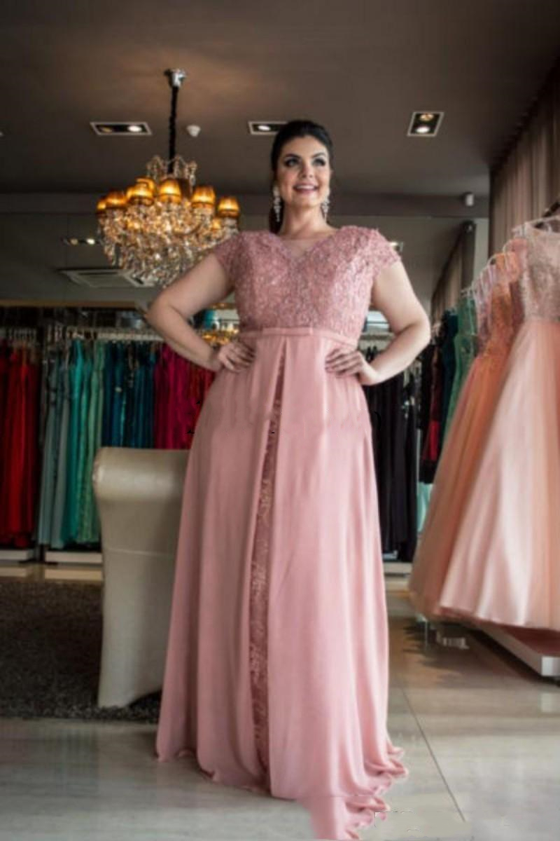 YiMinpwp Plus Size Mother of The Bride Dresses Sho
