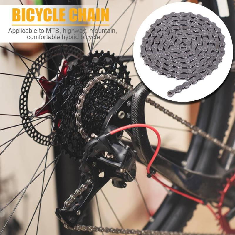 Hot Sale Bicycle Chains Skillful Manufacture Bicycle Chain Quick Connector Steel 116 Links 10/30 Speed HG95 MTB Cycling Chain image