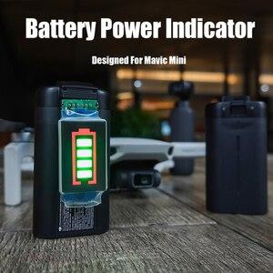 Image 5 - Indicatore di Capacità della batteria Per DJI Mavic Mini di Potenza Della Batteria con Display A LED per il DJI Mavic Mini Supporto 4 Livello di Potenza display