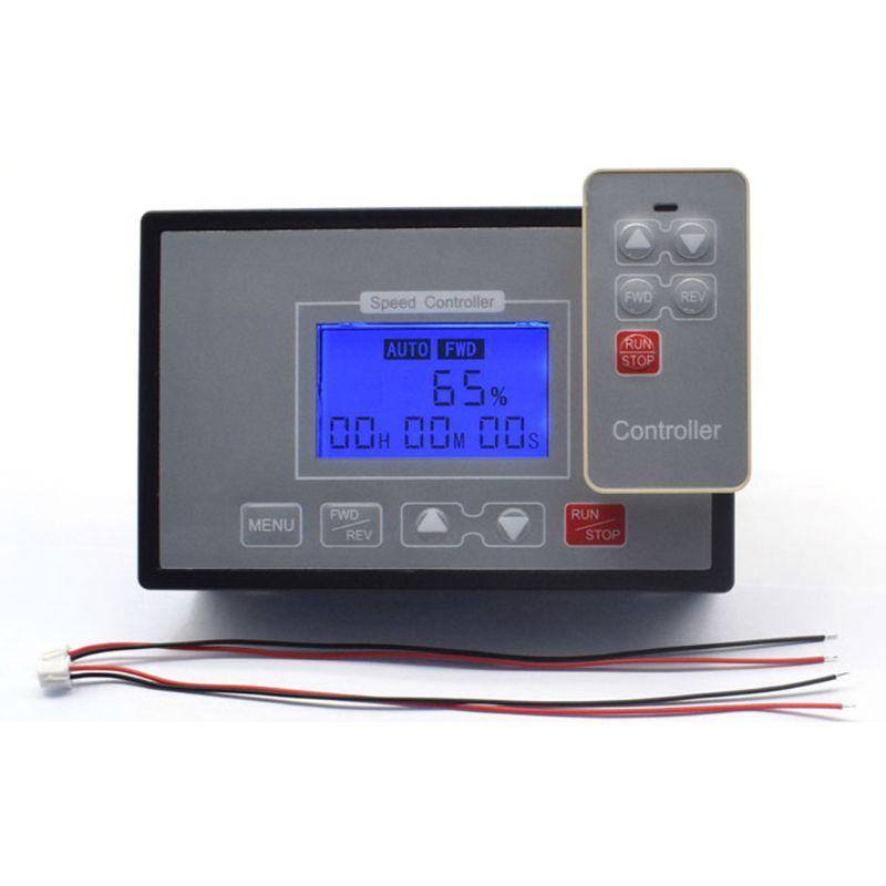 LCD Smart Digital Display 0~100% Adjustable 60A PWM DC Motor Speed Controller