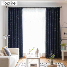 Curtains for Living Room Lucky Star Modern Blackout Bedroom Decoration Kids Window Treatments