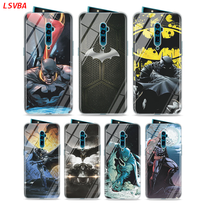 Silicone Cover Batman Fashion for <font><b>OPPO</b></font> Reno Z 10X Zoom <font><b>F11</b></font> F9 F7 F5 A7 R9S R17 R15 Realme X2 2 C2 K3 K5 <font><b>Pro</b></font> <font><b>Phone</b></font> Case image