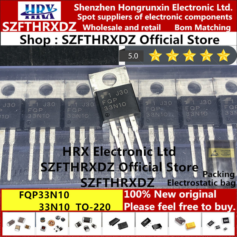100 pieces MOSFET 100V N-Channel QFET