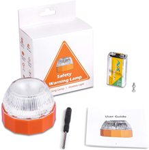 Light Emergency v16 Signal Rotating Light Beacon Emergency Car Light Traffic Safety Warning Lights Orange Flashing Light