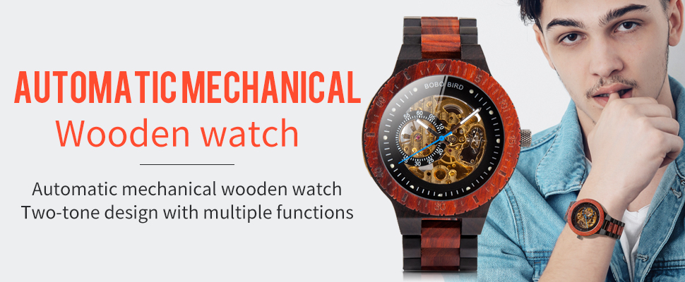 Hf3f0313a12464d19a7902559406b2385u Personalized Customiz Watch Men BOBO BIRD Wood Automatic Watches Relogio Masculino OEM Anniversary Gifts for Him Free Engraving