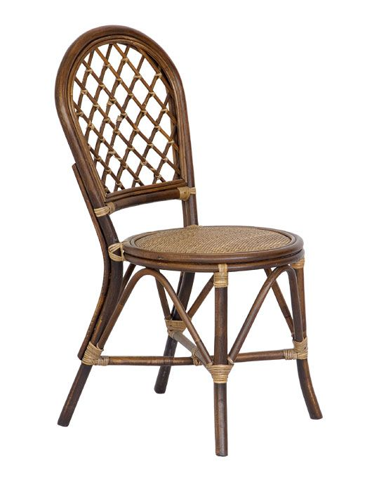 Special offer Indonesia rattan dining chair rattan chair home rattan leisure chair simple hotel furniture fashion computer chair