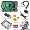 raspberry pi 4 4gb kit  Raspberry Pi 4 Model B PI 4B   Board Heat Sink Power Adapter Case  fan  32GB SD HDMI Cable Gamepad review