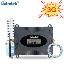 Lintratek 3G משחזר 2100Mhz אותות בוסטרים 3G 2100 מגברי UMTS WCDMA להקת 1 נייד טלפון מגבר רשת מאיץ 65dB ערכת