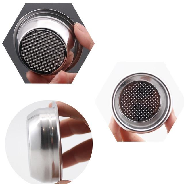 304 Paslanmaz Çelik 3lü Basınçsız Filtre Seti 58mm Single Double ve Kör Filtre   4