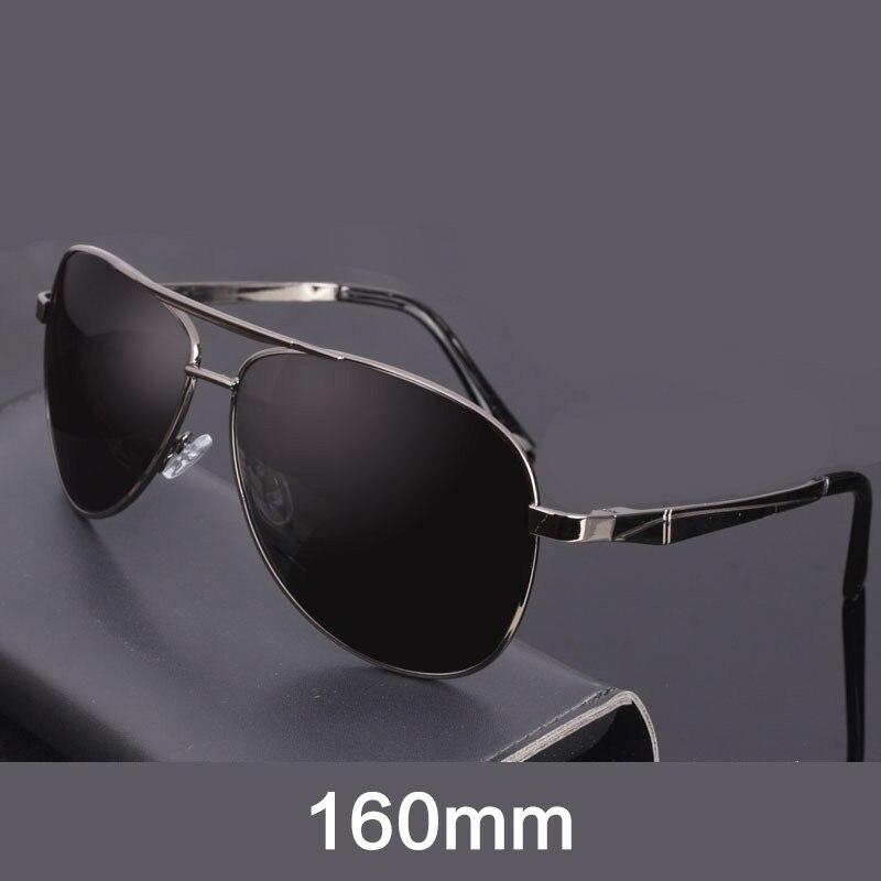 Evove 160mm óculos de sol polarizados grandes dimensões dos homens óculos de sol para o homem que conduz anti polar aviação eyewear uv400