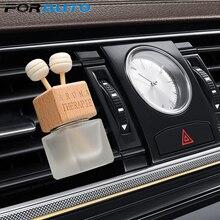 FORAUTO освежитель воздуха орнамент подвеска в виде бутылочки парфюма эфирные масла Авто Автомобильный флакон духов подвесная стеклянная бутылка автостайлинг