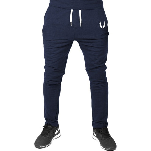 Four Seasons Men's Sports Pants  Gym Fitness Sports Jogging Sports Pants / Men's Casual Cotton Pencil Pants 4