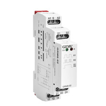 Din Rail Electronic Latching Relay Memory Relay SPDT 16A Step Relay AC230V OR AC/DC12-240V  Impulse Relay GRM8