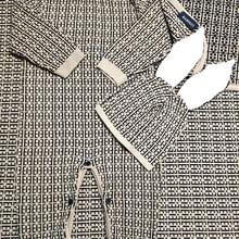 Romper Toddler Winter Sweater Newborn-Baby Baby-Boy-Girls Warm Letter Hat-Set Knit Long-Sleeve