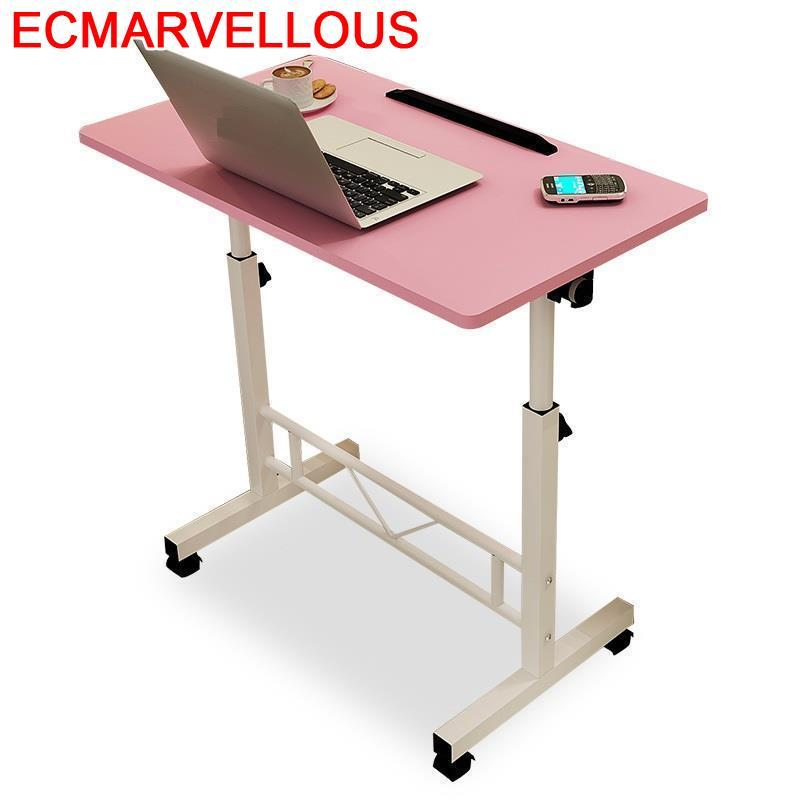 Office Escritorio Support Ordinateur Portable Bed Tray Pliante Adjustable Laptop Stand Bedside Desk Study Computer Table