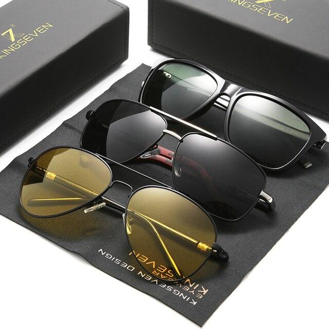 3PCS KINGSEVEN Polarized Sunglasses For Men 1