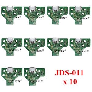Image 3 - 10 PCS JDS 050 040 030 011 USBชาร์จพอร์ตซ็อกเก็ตสำหรับSony PlayStation 4 PS4 DS4 Pro Slimคอนโทรลเลอร์บอร์ดPCB