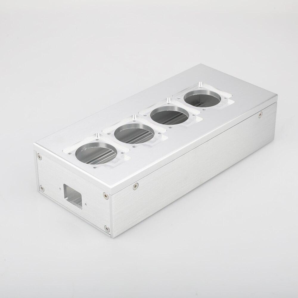 Audiocrast PC1 Full Aluminum HIFI EU Power Case European Standard Power Socket Chassis HiFi DIY Box