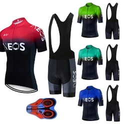 2019 INEOS Cycling team Clothing 9D gel pad shorts Quick Dry Bike jersey set Ropa Ciclismo  Mens pro BICYCLING Maillot Culotte