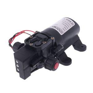 Image 4 - DC 12V 130PSI Micro Waterpomp High Pressure Diaphragm Self Priming Water Pump 70W 6L/Min For Farming Lawn Garden Tour Vehicles