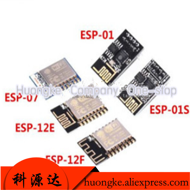 1pcs/lot Esp8266 Serial WiFi Wireless Module Esp-01 01s  01F 07 07S 12e 12F 12s