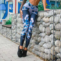Women Sweatpants Fashion Mid Waist Printed Pencil Pants Ladies Elastic Sports Trousers Female Streetwear Slim Hip Pants