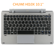 Teclado giratório chwzi hi10air original, teclado removível para tablet de 10.1 polegadas para brant chdispositivo i