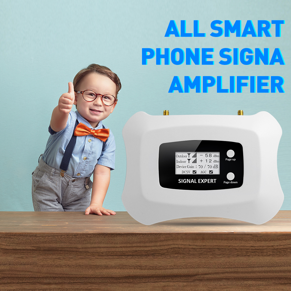 Image 2 - Special Offer! Cell phone 1800mhz DCS  2G 4G mobile signal booster 4G repeater cellular signal booster amplifier Only Device-in Signal Boosters from Cellphones & Telecommunications