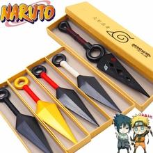 Anime Naruto Ninja Uzumaki Kunai Throwing Weapon Props Cosplay Knife Plastic