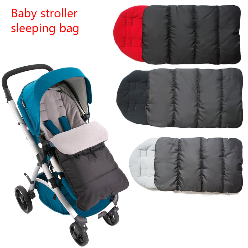 Baby Carriage Winter Warm Footmuff Windproof Cover For Yoyo Stroller Universal Stroller Accessories Socks Sleep Bag