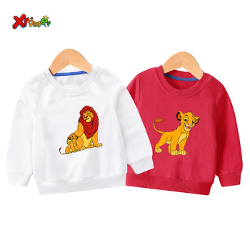 kids sweatshirts sports boys toddler Baby Boys Girls long t shirt  Hoodies Clothing 2020 spring new children Pullover red black new kids sweatshirt moana costume for girls new moana princess t shirt boys sweatshirts girls hoodies baby clothes kids t shirt