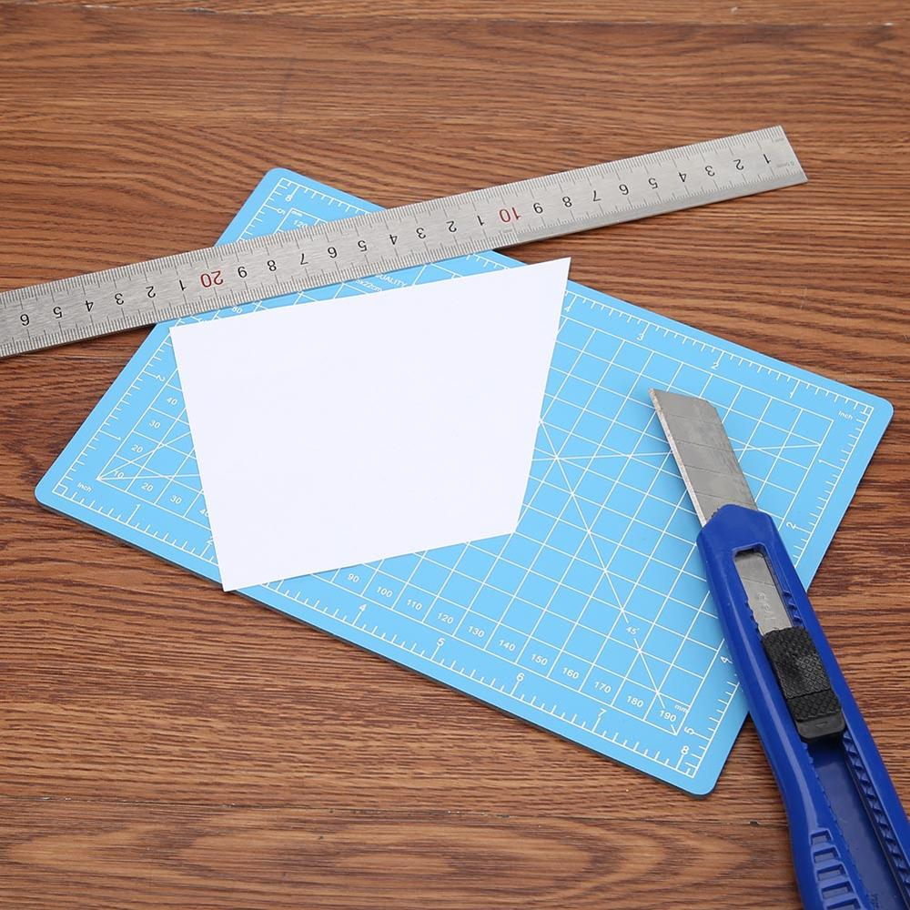 A3 A4 A5 Cutting Mat PVC Double Side Non Slip Cutting Pad DIY Self-healing Patchwork Cutting Board Fabric Paper Tools